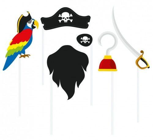 Zestaw do fotobudki Piraci i Korsarze
