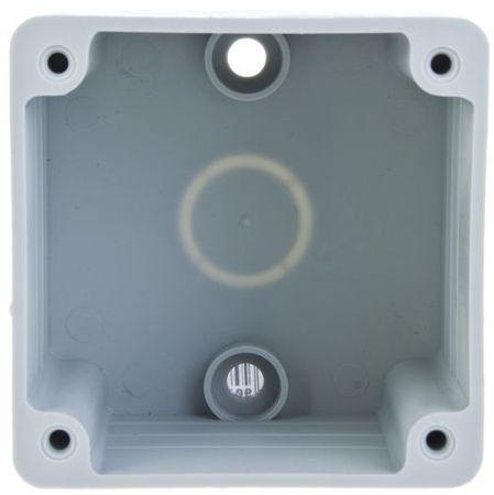 Puszka natynkowa do gniazd tablicowych 75x75mm IP44 80000