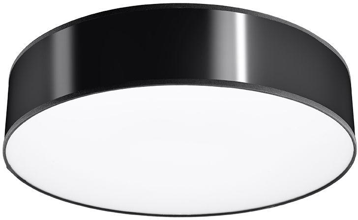 Czarny okrągły plafon - EX507-Arens