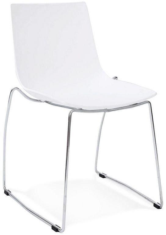 Kokoon design - krzesło z tworzywa tikada - białe