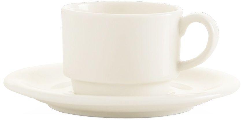 Filiżanka porcelanowa sztaplowana CREMA