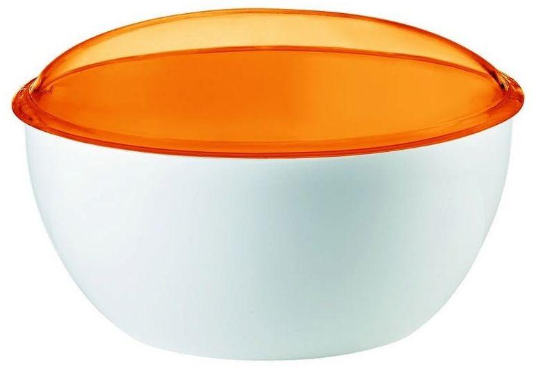 Guzzini - gocce - pojemnik na ciastka, pomarańczowy - pomarańczowy