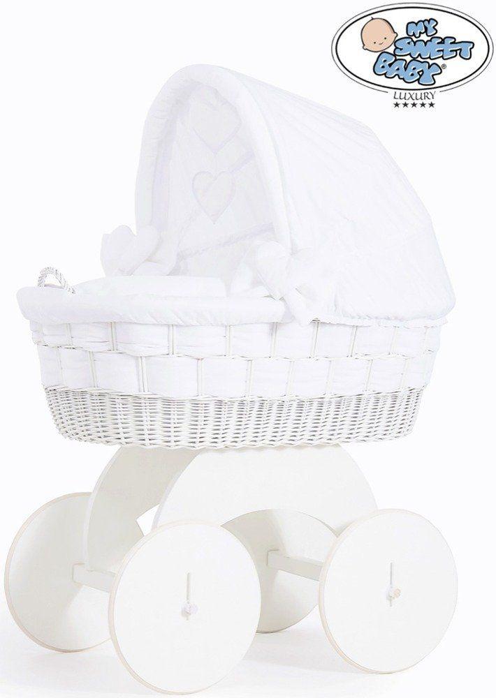 Kosz Mojżesza Bianka 70102911-My Sweet Baby, kosz dla niemowlaka