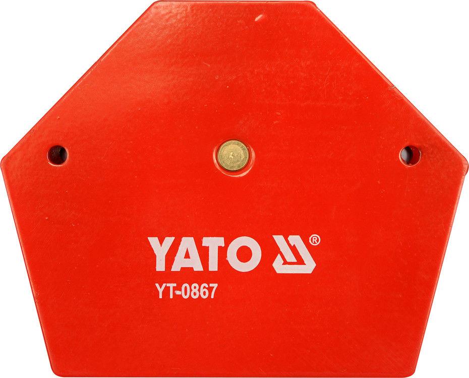 Kątownik spawalniczy Yato magnetyczny 111 x 136 x 24 mm