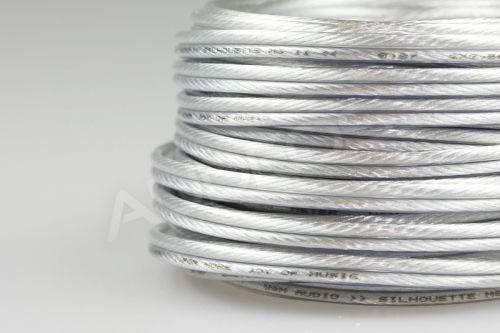 W&M Silhouette MS II 4mm - kabel głośnikowy, miedź srebrzona