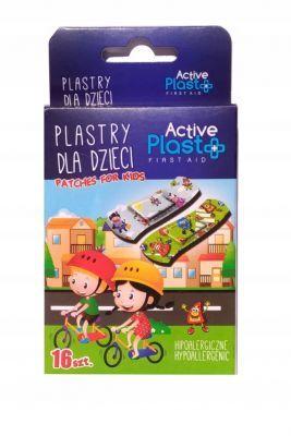 Plastry opatrunkowe dla dzeci Active Plas