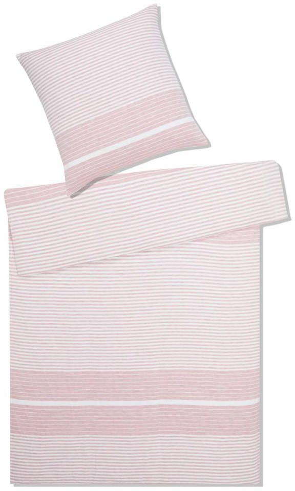 Poszewka lniana Elegante Summer Pink