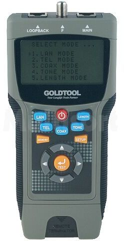 Tester okablowania GOLDTOOL TCT-2690PRO LAN / wykrywacz przewodów