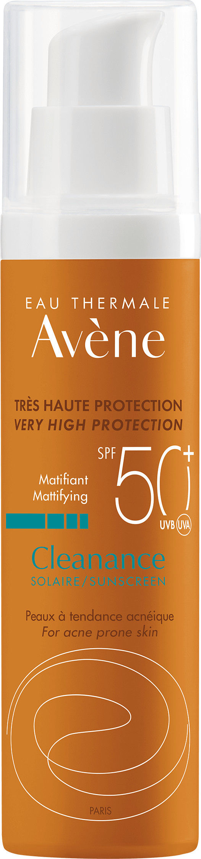 Avne Cleanance Solaire SPF 50+ ochrona przeciwsłoneczna 50 ml