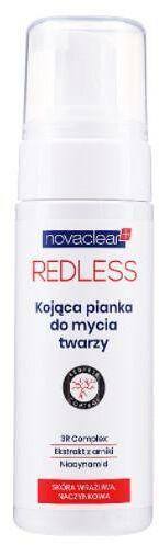 Novaclear Redless kojąca pianka do mycia twarzy 100 ml