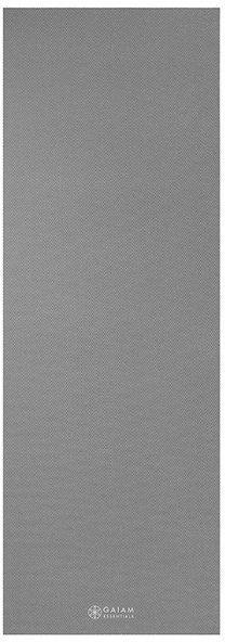 Mata do jogi z paskiem Essentials Gaiam 173x61x0,6cm