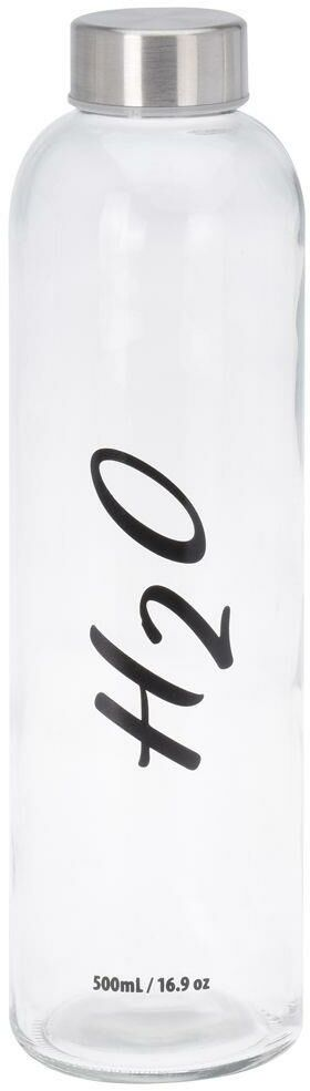 Butelka SZKLANA bidon na wodę sok lemoniadę smoothie koktajl 0,65L