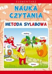 Nauka czytania. Metoda sylabowa. Elementarz - Ebook.