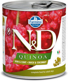 N&D DOG QUINOA DUCK COCONUT ADULT 285G