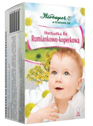 Herbapol Herbatka fix rumiankowo-koperkowa 20 saszetek