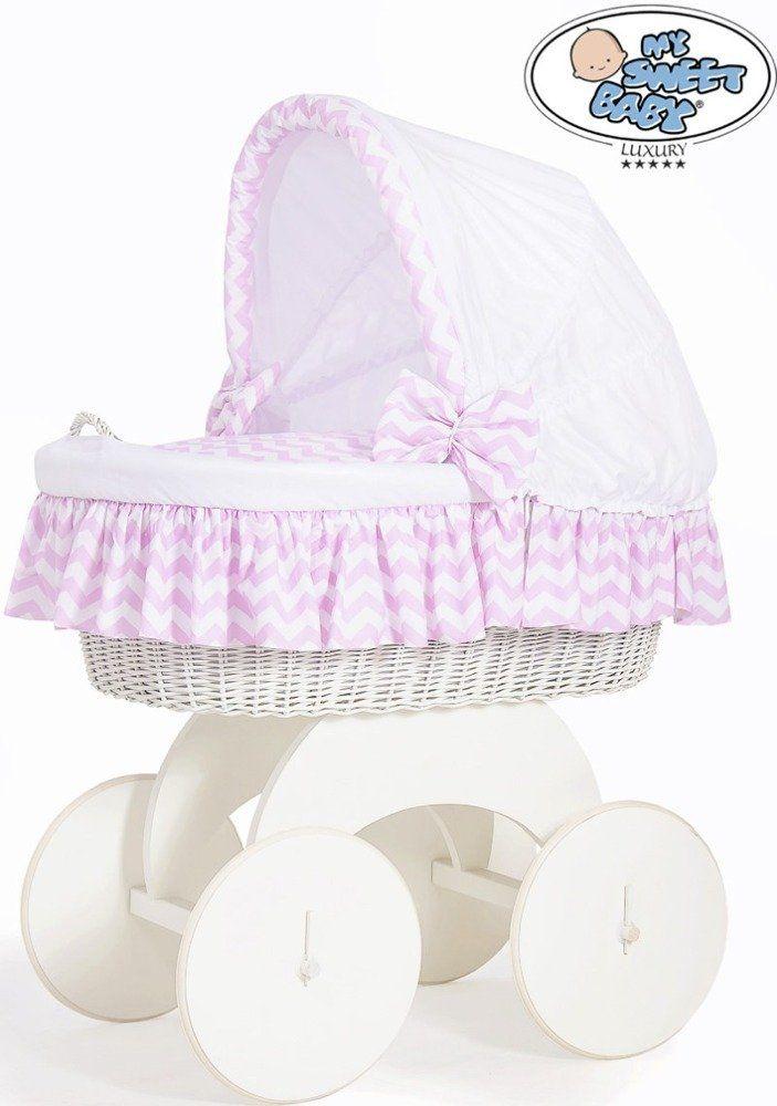 Kosz Mojżesza Hannah 70102901-My Sweet Baby, kosz dla niemowlaka