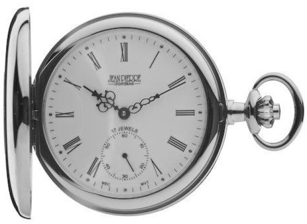 Zegarek uniwersalny Jean Pierre Half Hunter Pocket JP-G103CM