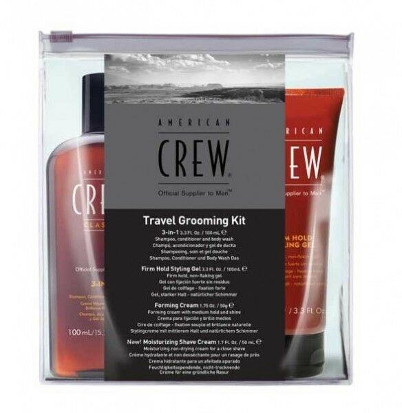 American Crew Travel Grooming Kit Zestaw podróżny dla mężczyzn