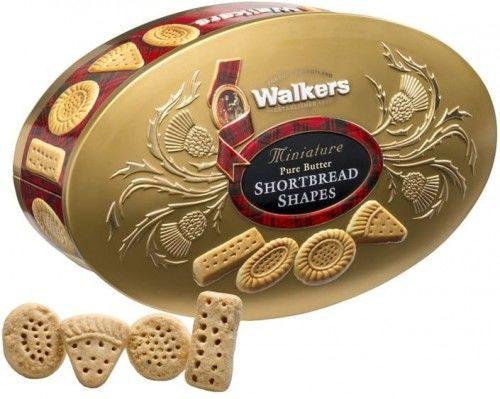 Ciastka Walkers Oval Gold 175g w puszce