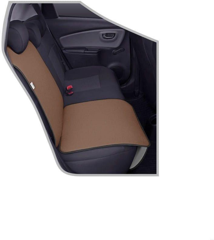 Ochronna mata pod fotelik samochodowy Junior brązowa