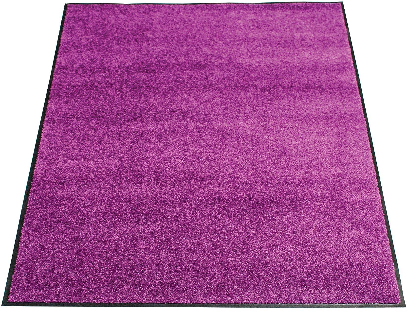 miltex Eazycare wycieraczka do drzwi, fioletowa 60 x 90 cm