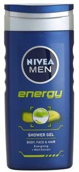 Nivea Men Energy żel pod prysznic do twarzy, ciała i włosów 250 ml