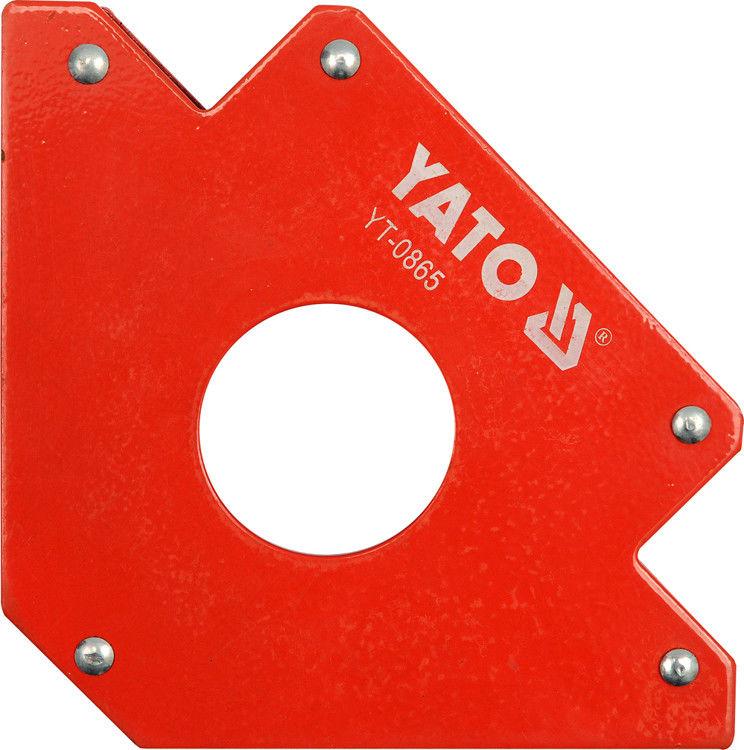 Kątownik spawalniczy Yato magnetyczny 122 x 190 x 25 mm