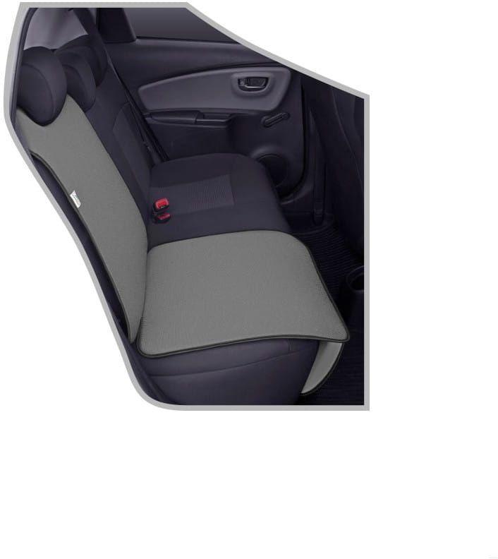 Ochronna mata pod fotelik samochodowy Junior popielata