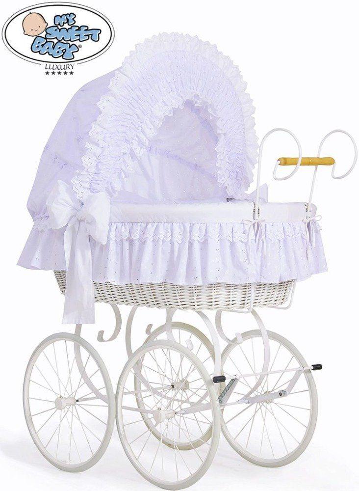 Kosz Mojżesza Charlotte 72100906-My Sweet Baby, kosz dla niemowlaka