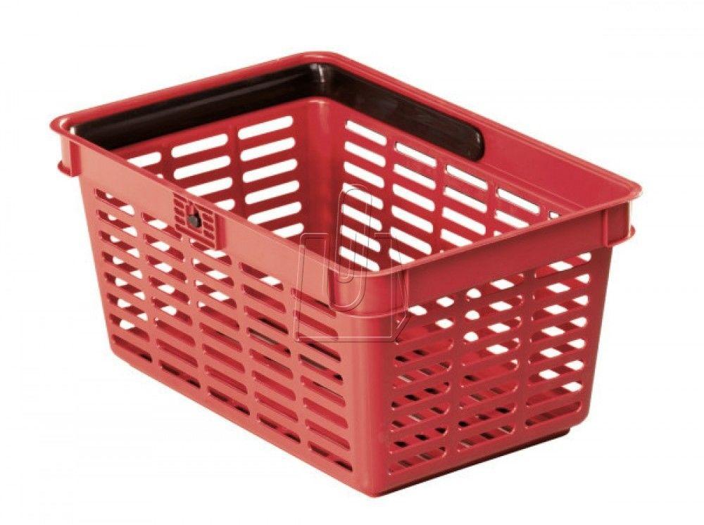 Koszyk na zakupy SHOPPING BASKET czerwony 19 l 18015650 80