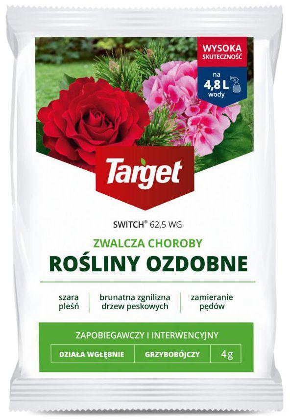 Środek grzybobójczy SWITCH 62,5 WG 4 g TARGET