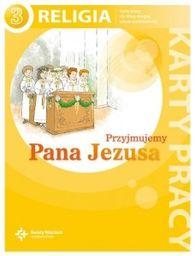 Religia przyjmujemy pana Jezusa karty pracy dla klasy 3 szkoły podstawowej AZ-13-01/10/P0-1/13 ZAKŁADKA DO KSIĄŻEK GRATIS DO KAŻDEGO ZAMÓWIENIA