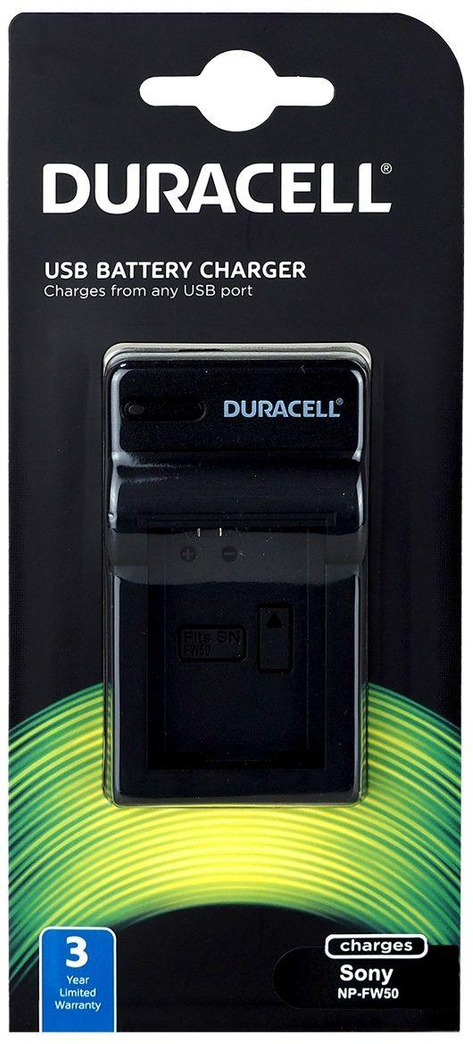 Duracell DRS5962 - ładowarka USB do akumulatorów Sony NP-FW50 Duracell DRS5962