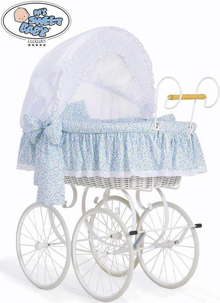 Kosz Mojżesza Jasmine 72100914-My Sweet Baby, kosz dla niemowlaka