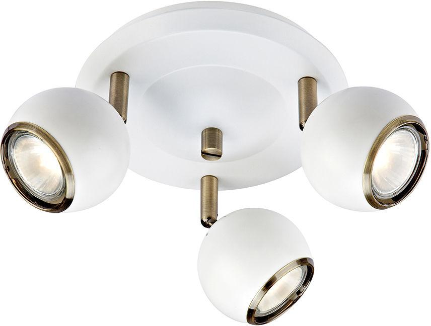 Markslojd plafon lampa sufitowa Coco 106875 biały patyna 20cm