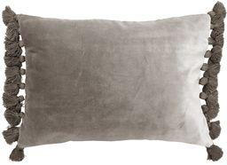 Ragged Rose Terry, aksamitna poduszka i wewnętrzna podkładka, srebrny szary