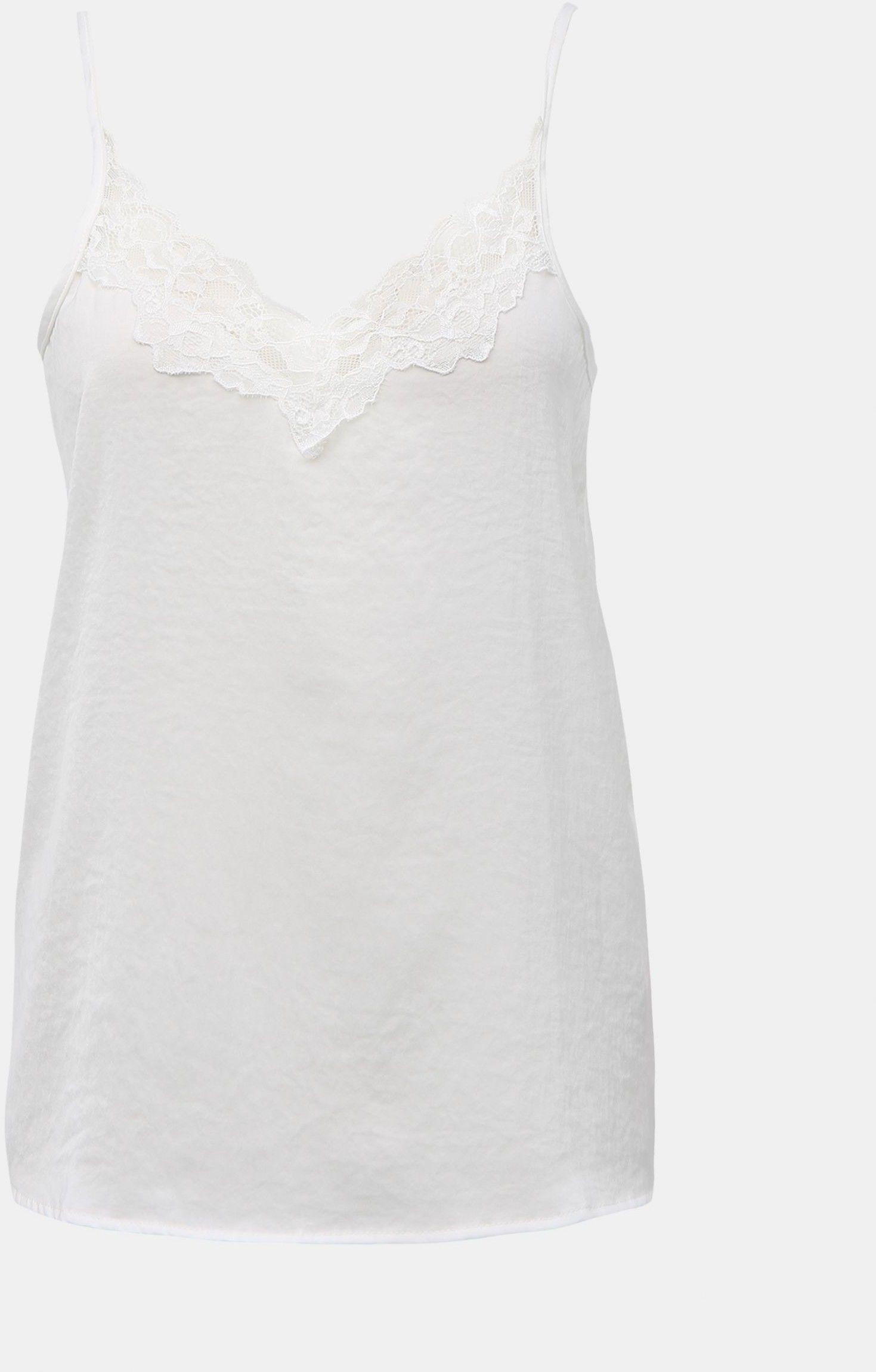 Biały koronkowy top z Jacqueline de Yong Appa