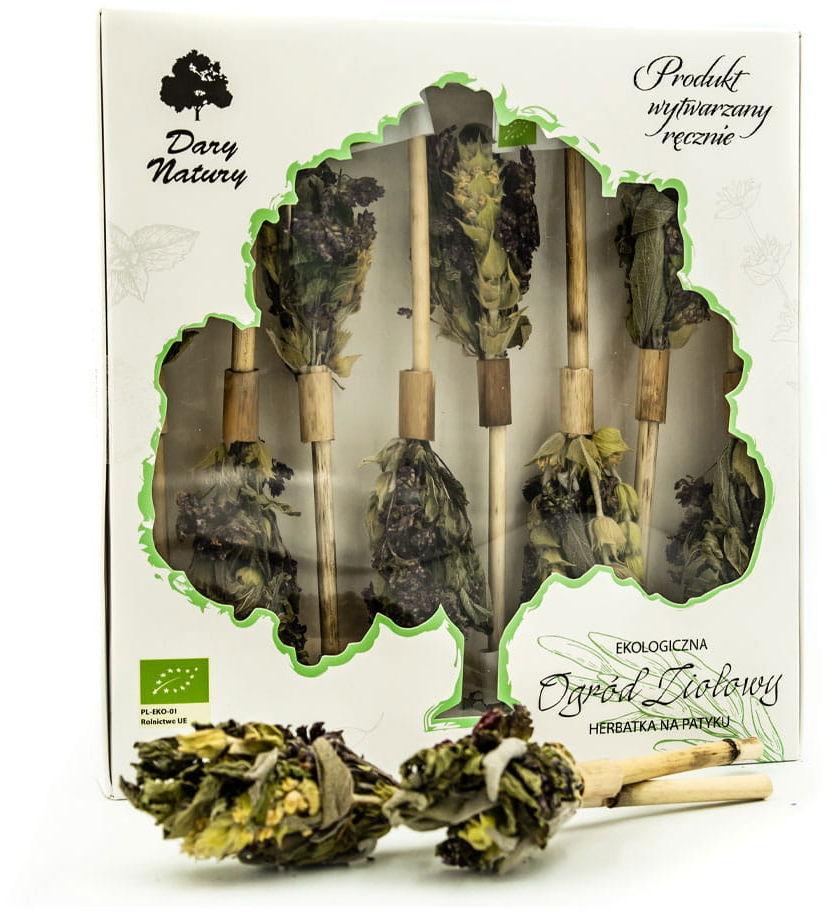 Herbatka na patyku ziołowy ogród bio 8 x 2,4 g - dary natury