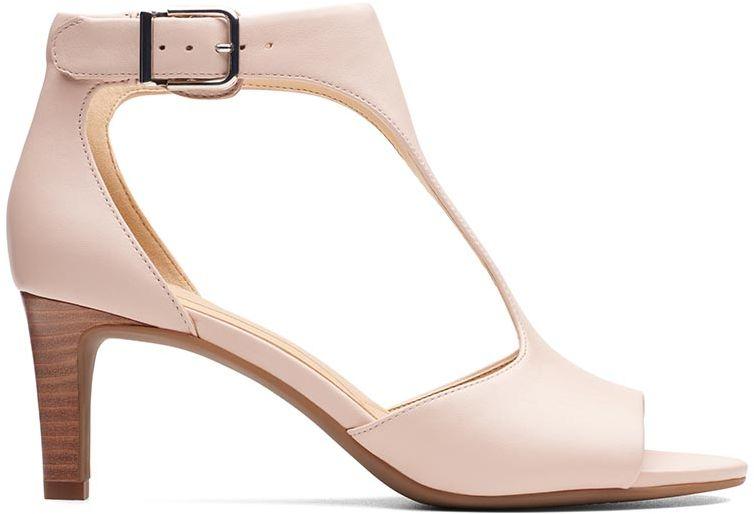 Sandały damskie Clarks Laureti Star Blush Leather różowe261406544