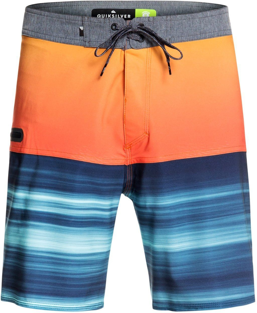 szorty kąpielowe mięske QUIKSILVER HIGHLINE HOLD DOWN 18 Tiger Orange - NME6