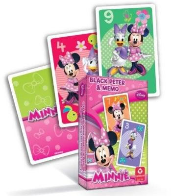 Karty do gry - Czarny Piotruś - Disney - Myszka Minnie