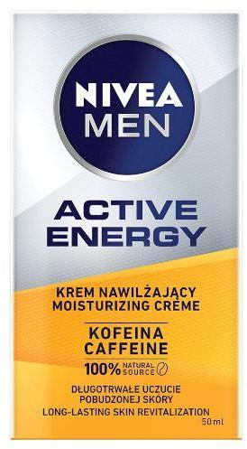 Nivea Men Active Energy energetyzujący krem do twarzy 50 ml