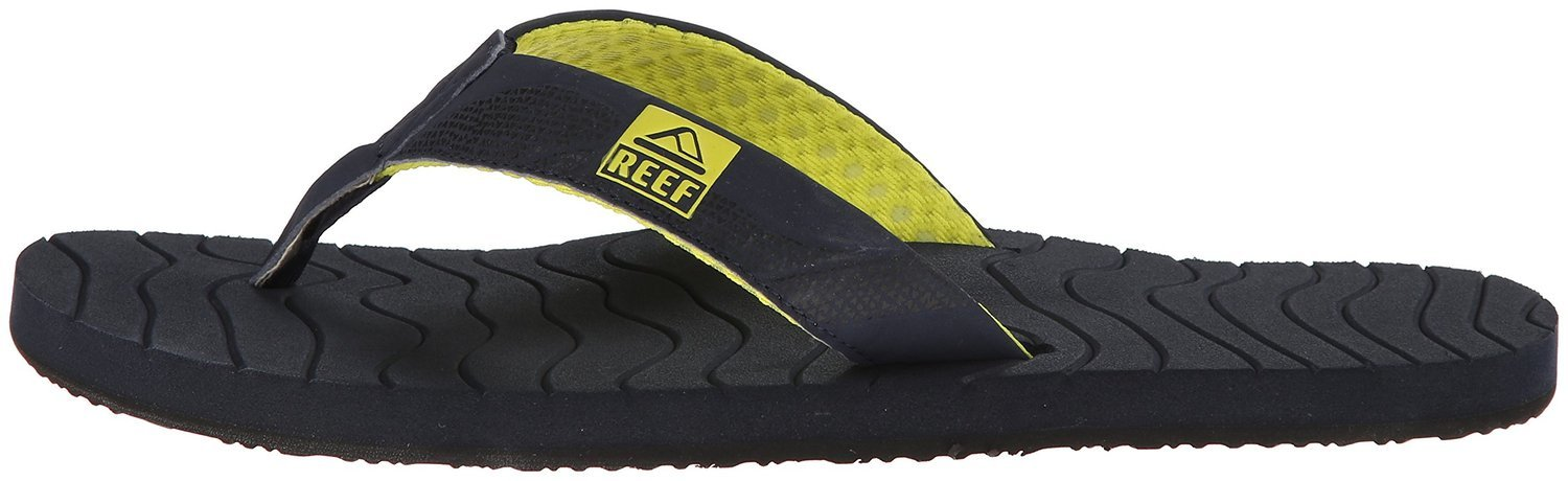 japonki męskie REEF ROUNDHOUSE MID BLUE YELLOW