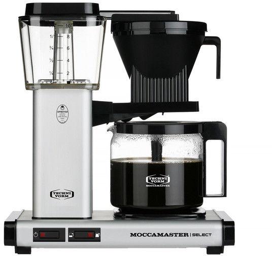 Ekspres do kawy Moccamaster KBG 741 Select Matt Silver - Srebrny mat