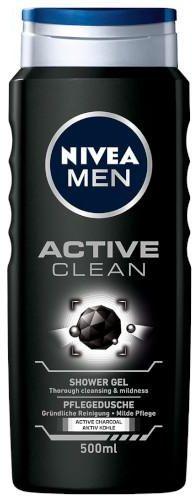 Nivea Men Active Clean żel pod prysznic 500 ml
