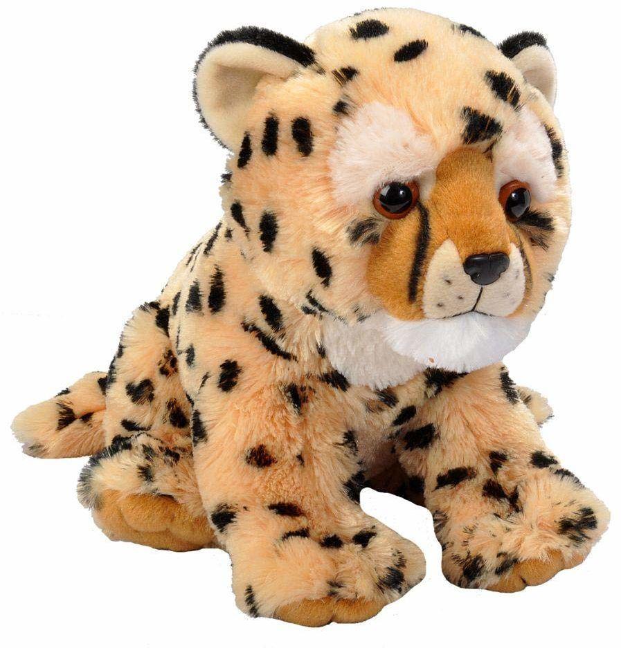 Wild Republic 19343 pluszowy gepard, Cuddlekiny, pluszowe zwierzątko, 30 cm