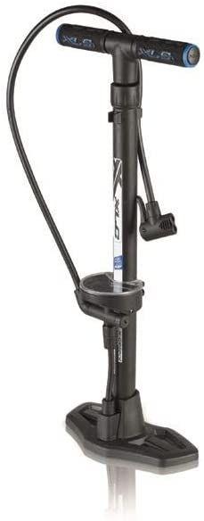 rowerowe; 2501955000; pompy; nożne; 4032191790527; pompki; akcesoria; rower; stojące; czarna; stojąca; xlc; pompa