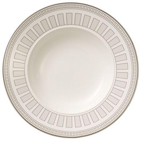 Villeroy & Boch 13 cm Premium porcelana kostna La Classica Contura spodek filiżanka do espresso, biały