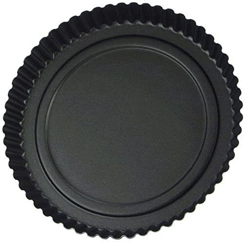 Foremka do tarta, żłobiona,  Dulce, czarna, 32 cm
