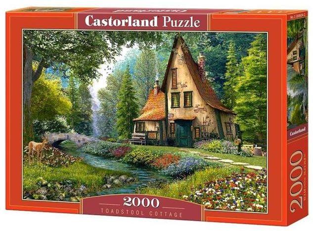 Puzzle 2000 Toadstool Cottage CASTOR - Castorland